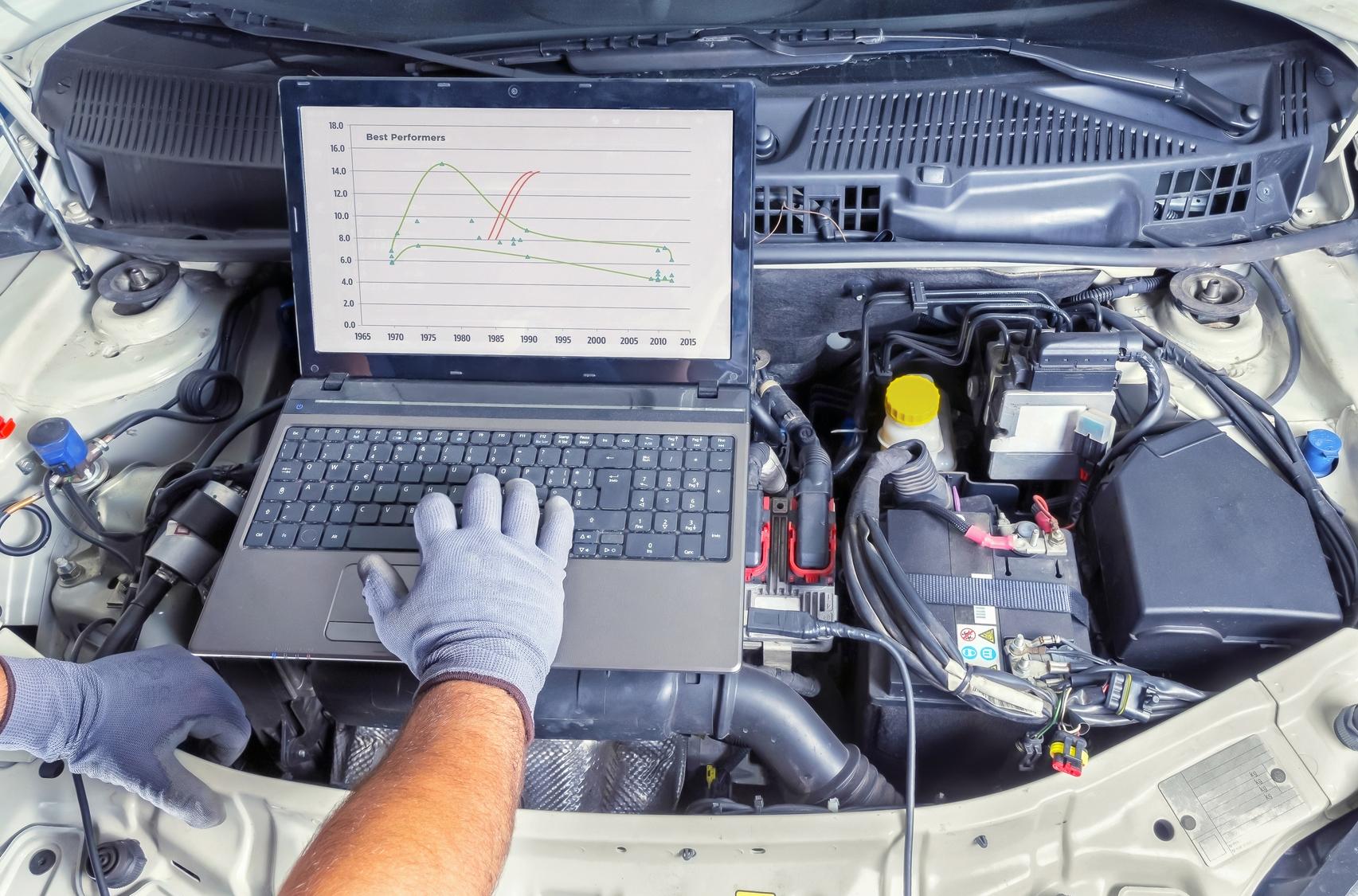 Как сделать компьютерную диагностику автомобиля с помощью ноутбука
